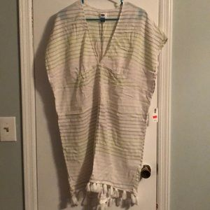 Women's size M beach cover up